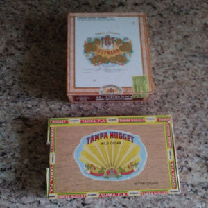 Other - Empty Cigar Boxes -Set of 2-H.Upmann & TampaNugget
